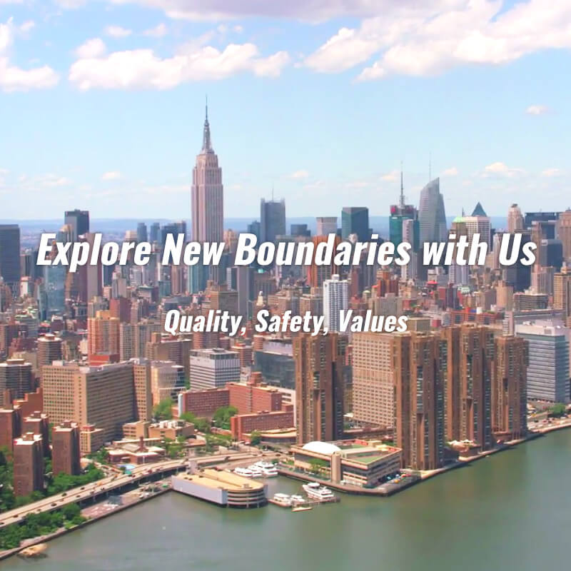 Explore Boundaries Us Quality, Safety, Values
